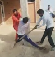 Beaten Savagely with Stick