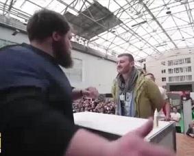 Slap KO's ..Russian Beast Finally Put Down  (Compilation)