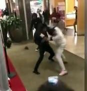 Savages Fight at Florida Mall Next to Santa