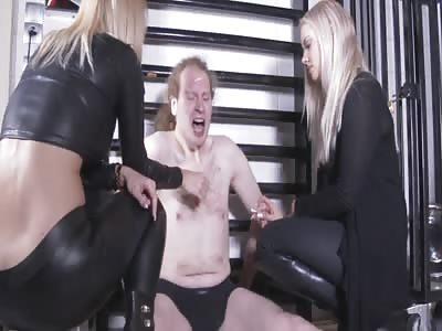 Trance Fag Nerd TheYNC8814 punished by Teens