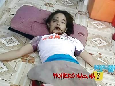 Girl was killed with huge knife | theYNC->