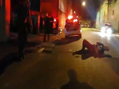 Officer Shoots and Kills Man Wielding a Butcher Knife
