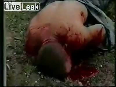 (Repost) Chechclear chechen beheading.->