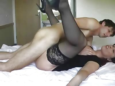 Boy fucking grans pussy