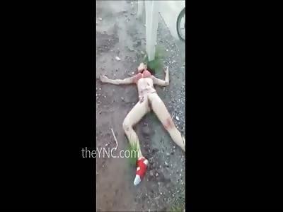 Girl found Nude with Throat Cut is a Grisly Murder Scene... | theYNC->