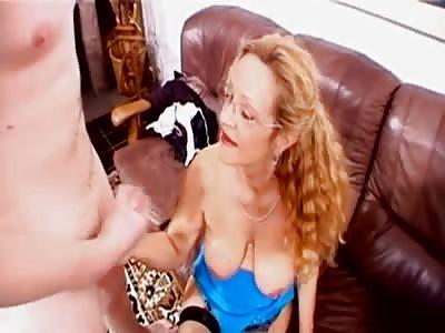 German mature blonde