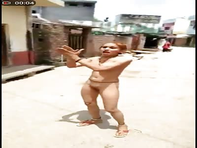 crazy naked indian girl