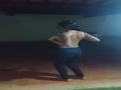 Brazilian whore puts on a Sexy Strip Tease