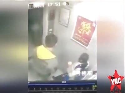 A paedophile is caught on video in Jiangsu   theYNC->