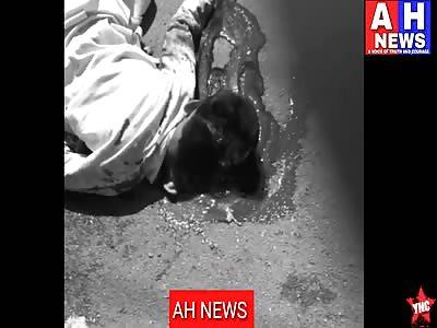 a 12 Year old boy by name riyaz died in an accident near  Kishan Bagh