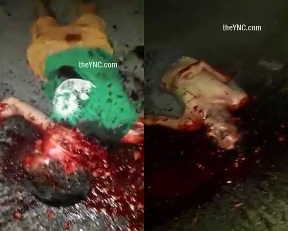 [AFTERMATH] Brutal SHOTGUN Execution in Brazilian Favela (Slaughter others bandits) | theYNC->