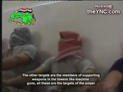 Newly Released Video shows Juba Sniper School in Iraq