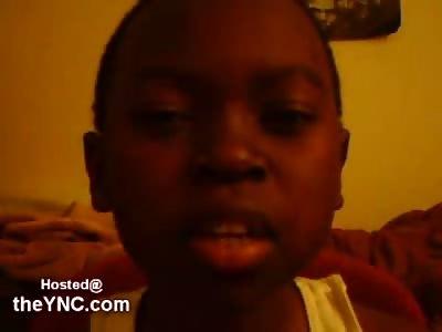 This Little Kid wants to Kill President Bush