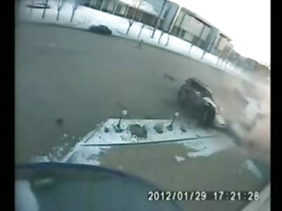 Fatal Crash...Car Going over 100MPH...This Crash is Insane