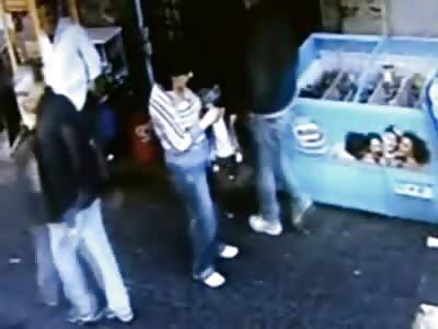 Cool as a Cucumber Mafia Execution caught on Camera